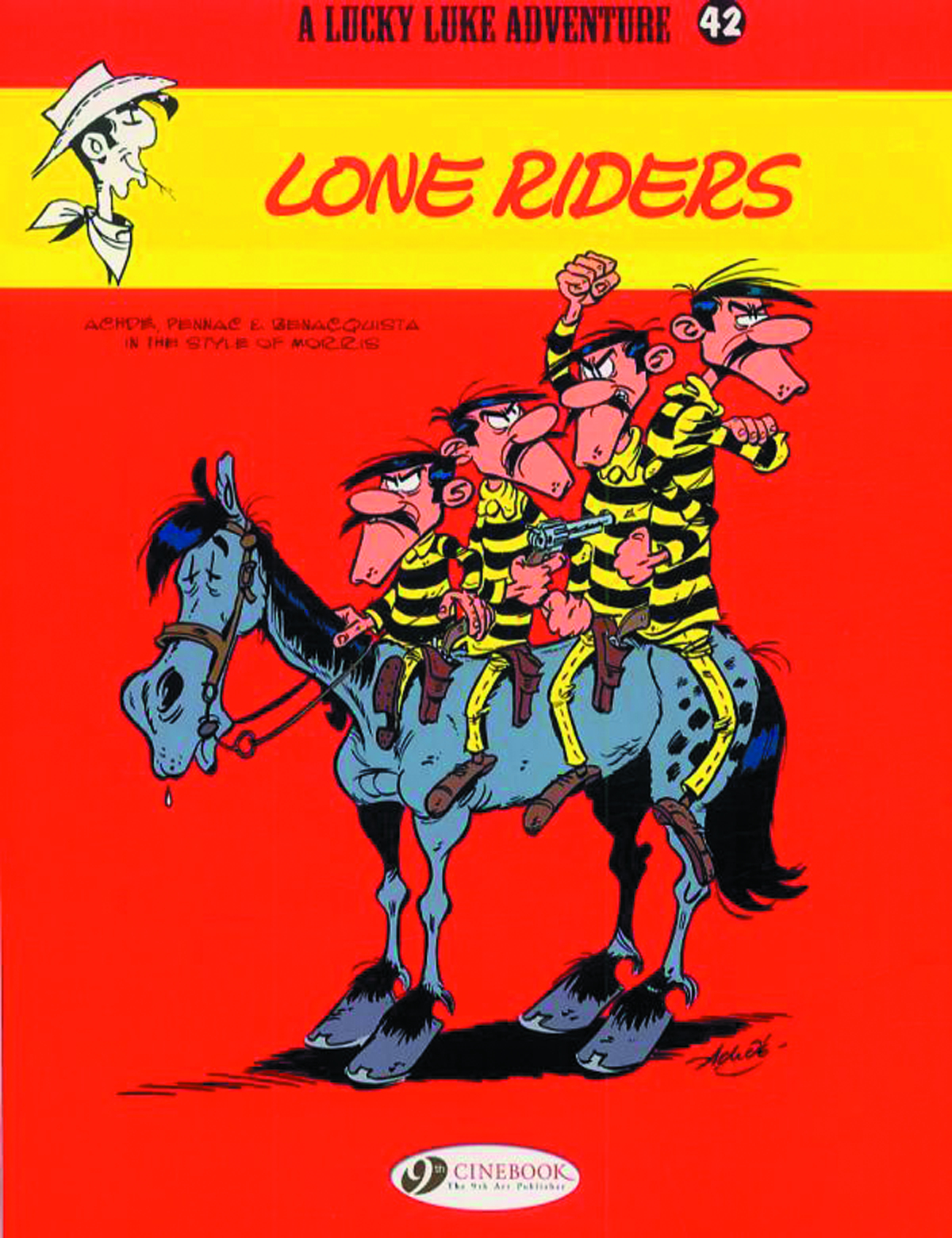 LUCKY LUKE TP VOL 42 LONE RIDERS