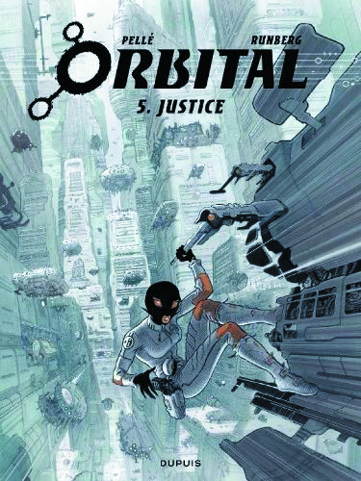 ORBITAL GN VOL 05 JUSTICE