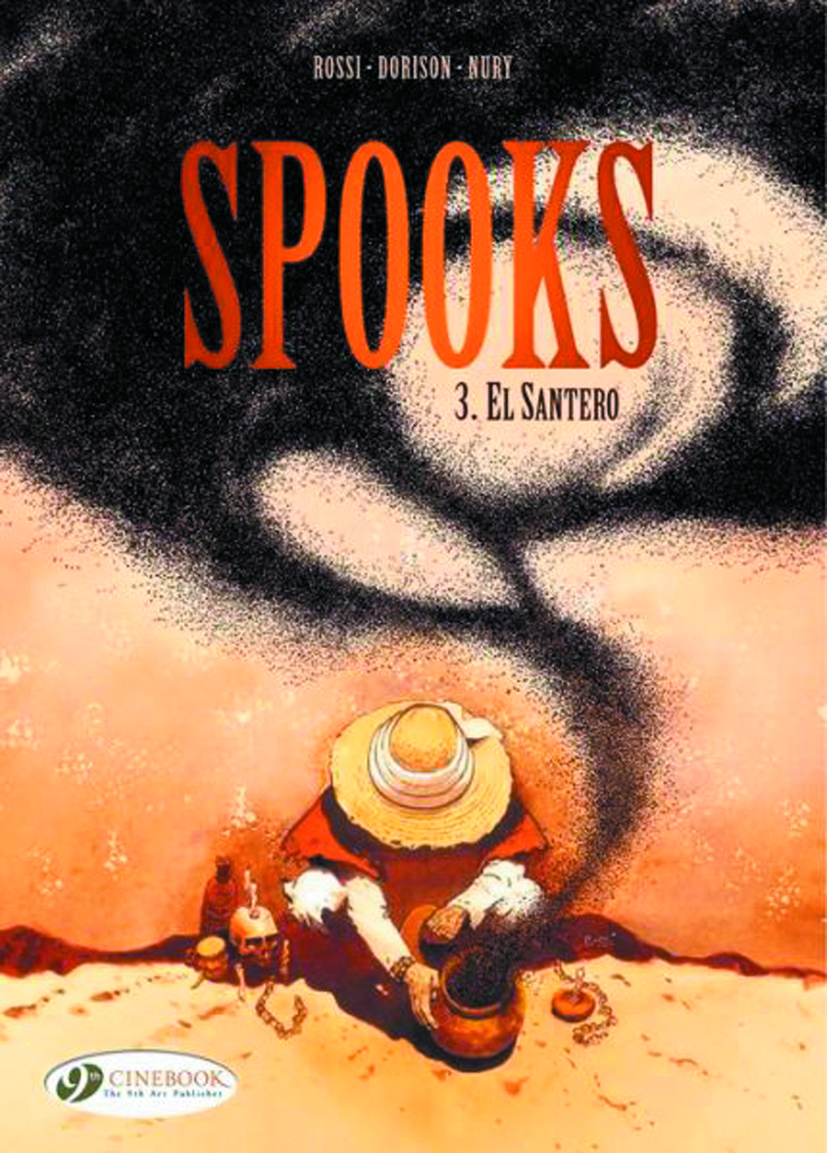 SPOOKS GN VOL 03 EL SANTERO