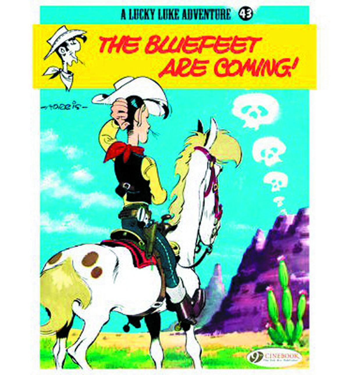 LUCKY LUKE TP VOL 43 BLUEFEET ARE COMING