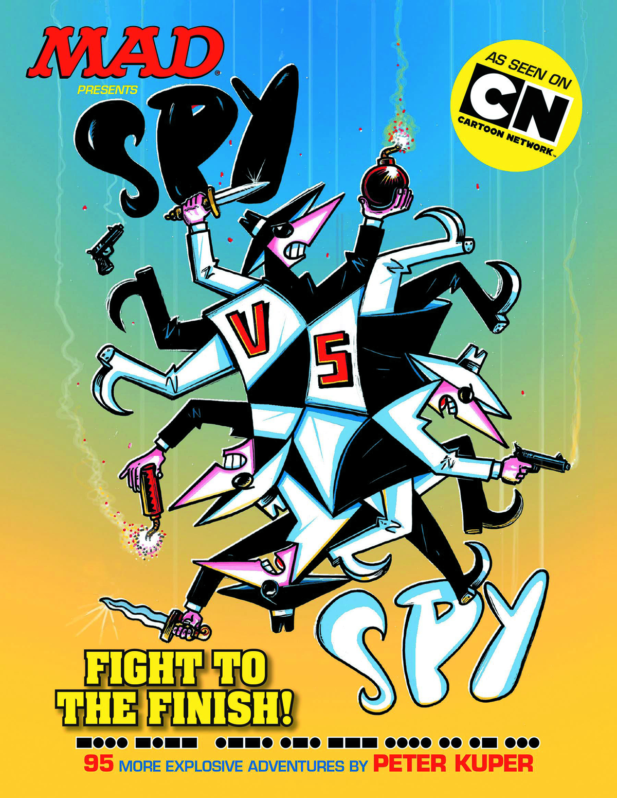 MAD PRESENTS SPY VS SPY FIGHT TO THE FINISH TP