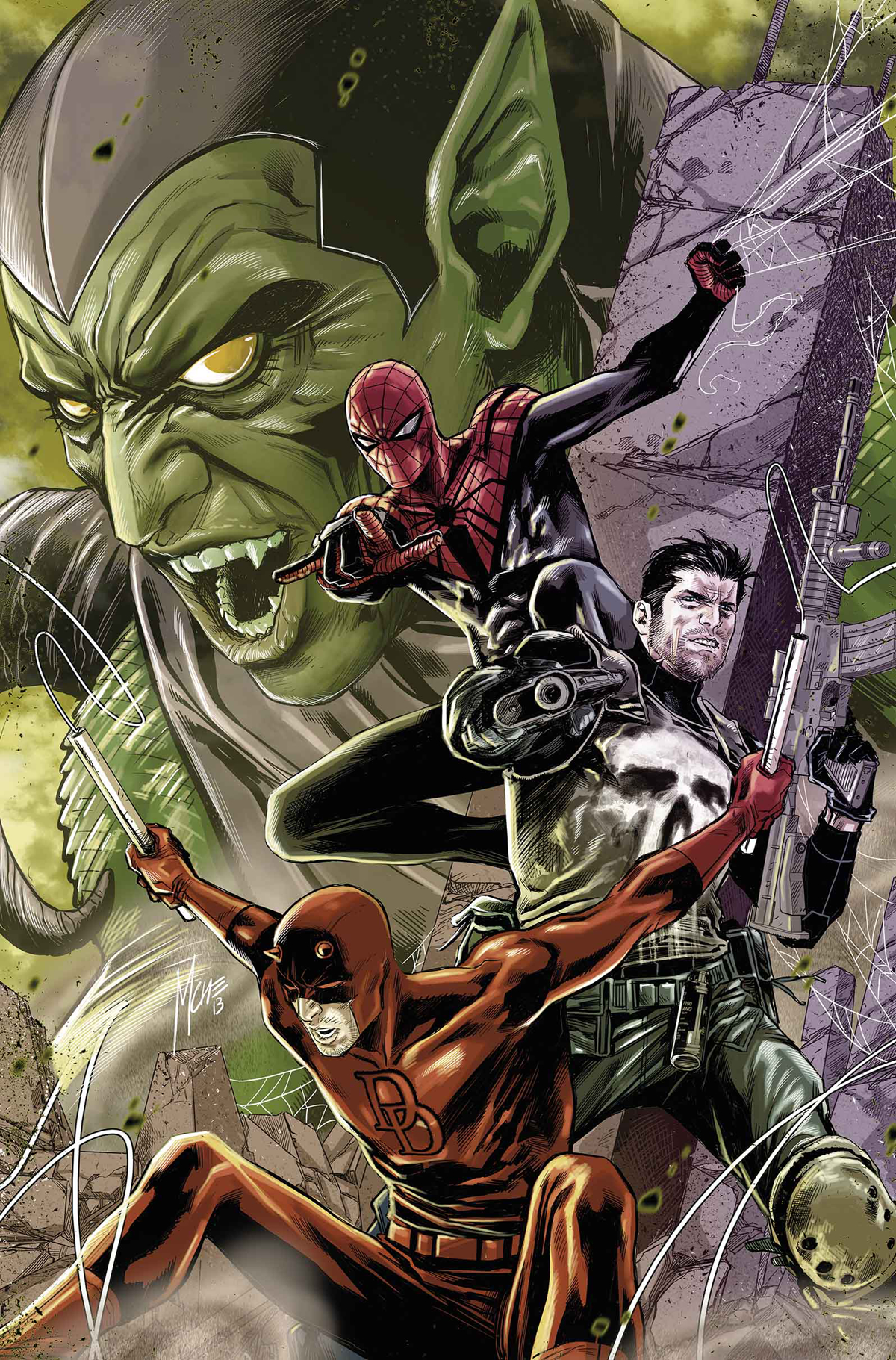 SUPERIOR SPIDER-MAN TEAM UP #9