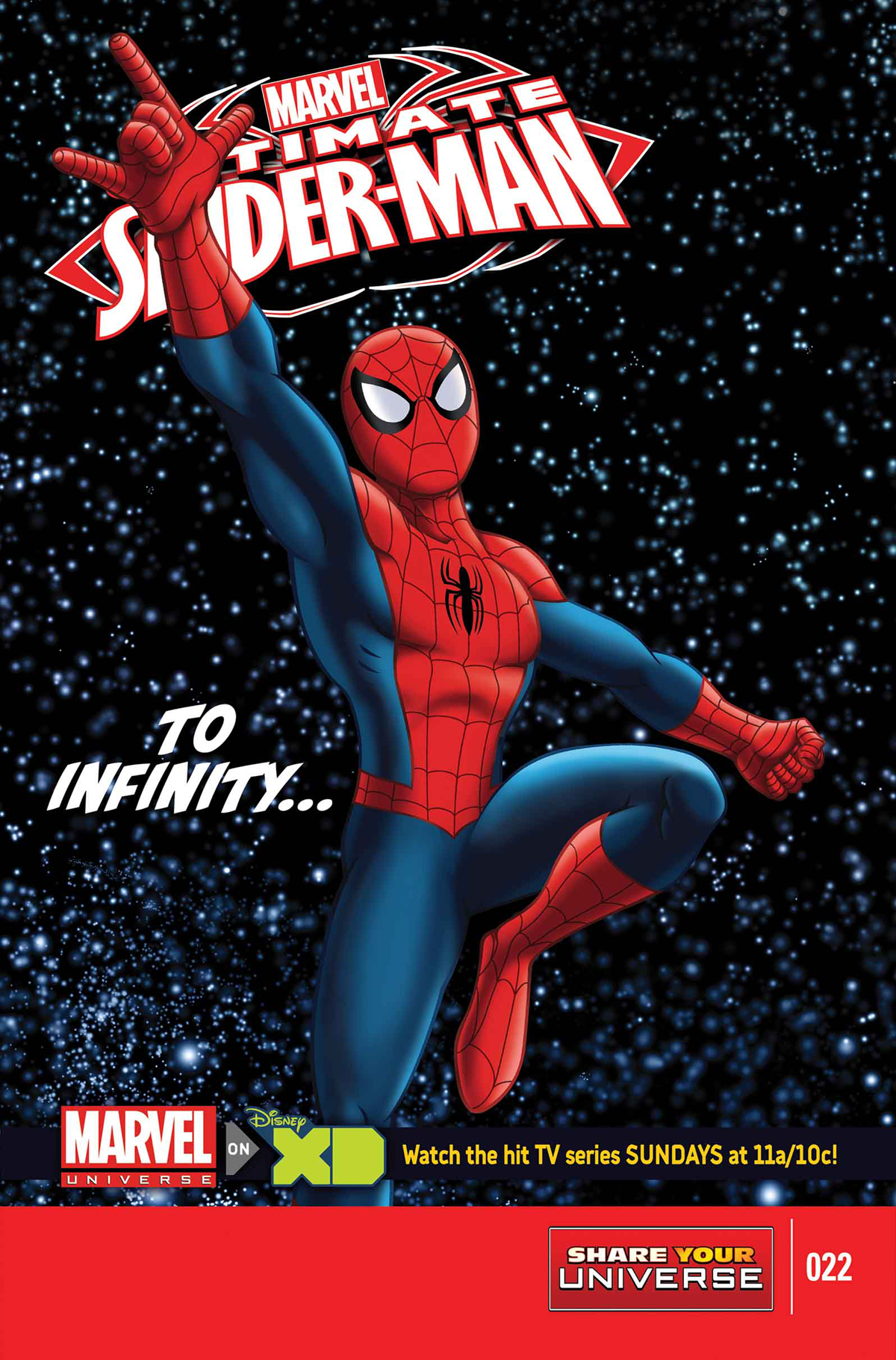 MARVEL UNIVERSE ULTIMATE SPIDER-MAN #22 SYU