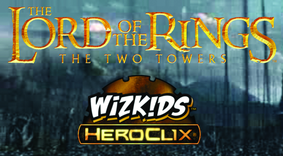 LORD OF THE RINGS HEROCLIX TWO TOWERS 30CT DISPLAY