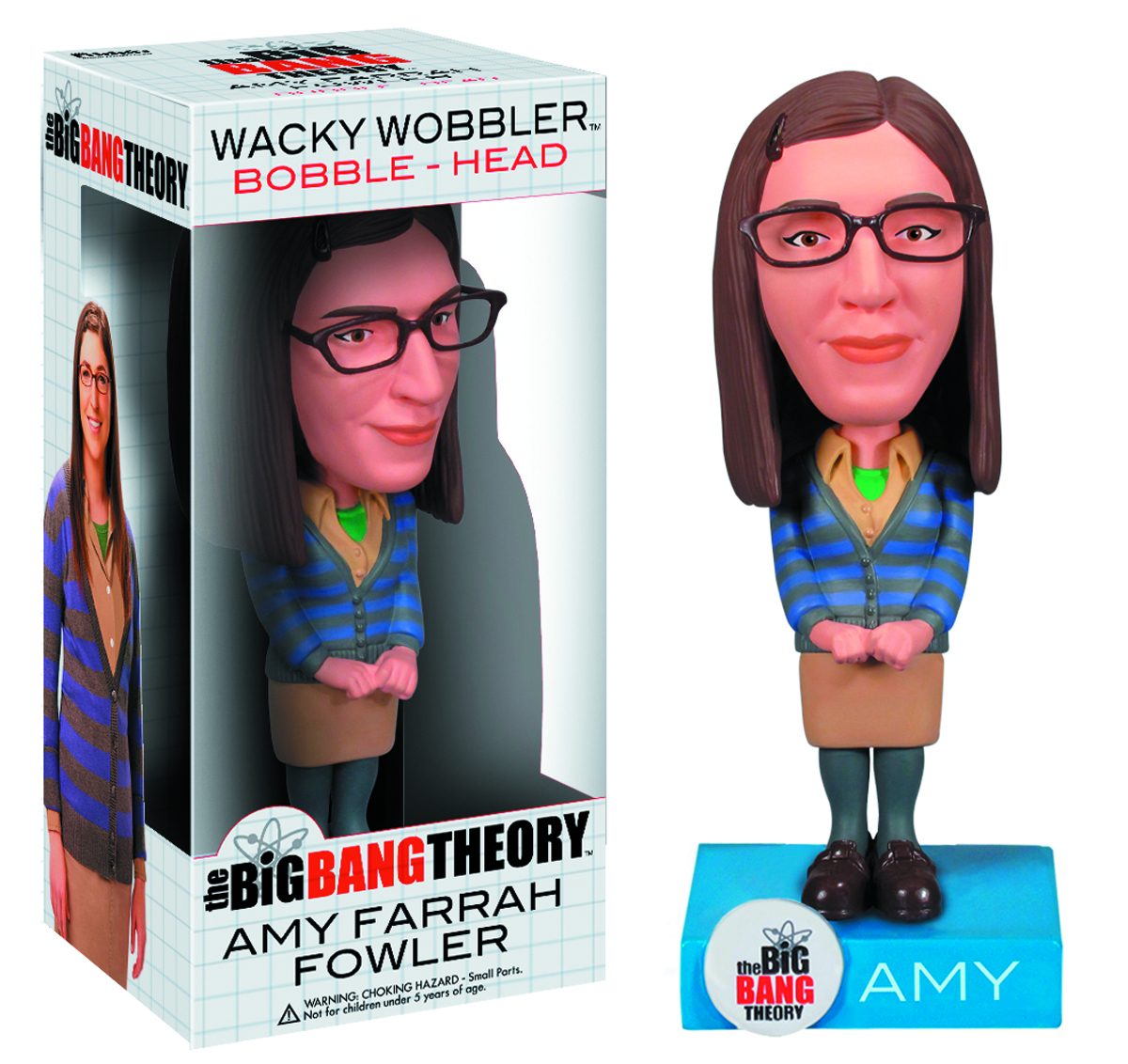 BIG BANG THEORY AMY WACKY WOBBLER