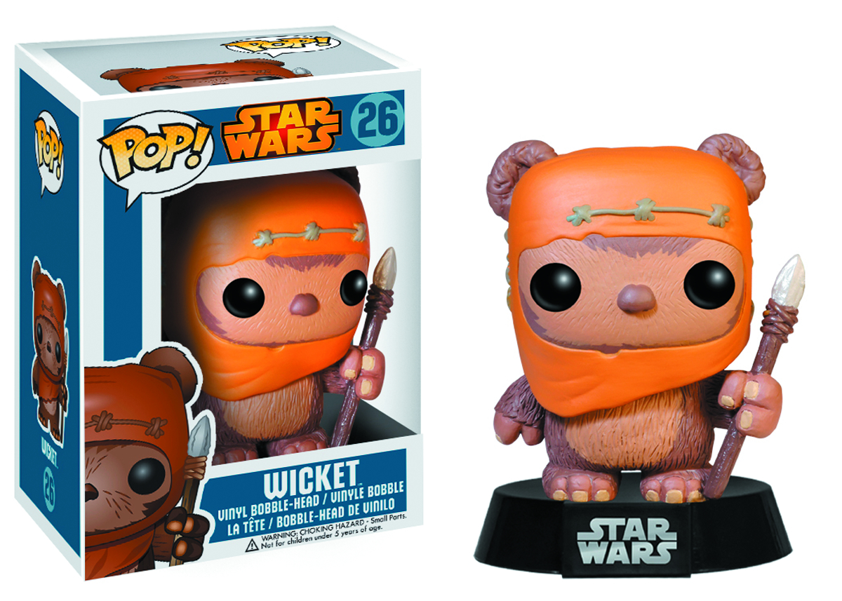 POP STAR WARS WICKET VINYL FIG