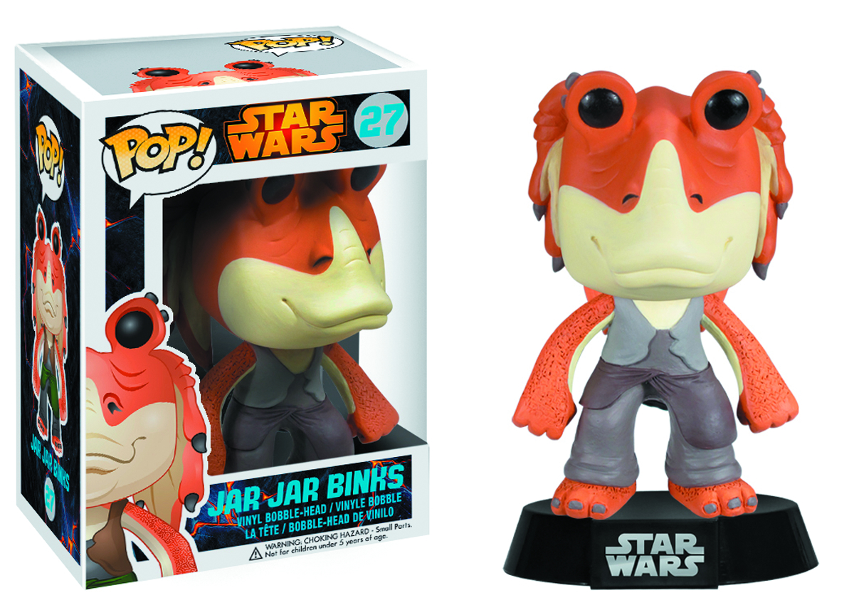 POP STAR WARS JAR-JAR BINKS VINYL FIG