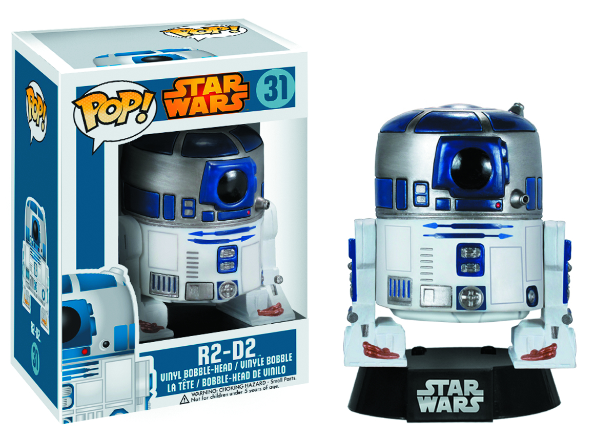 POP STAR WARS R2D2 VINYL FIG