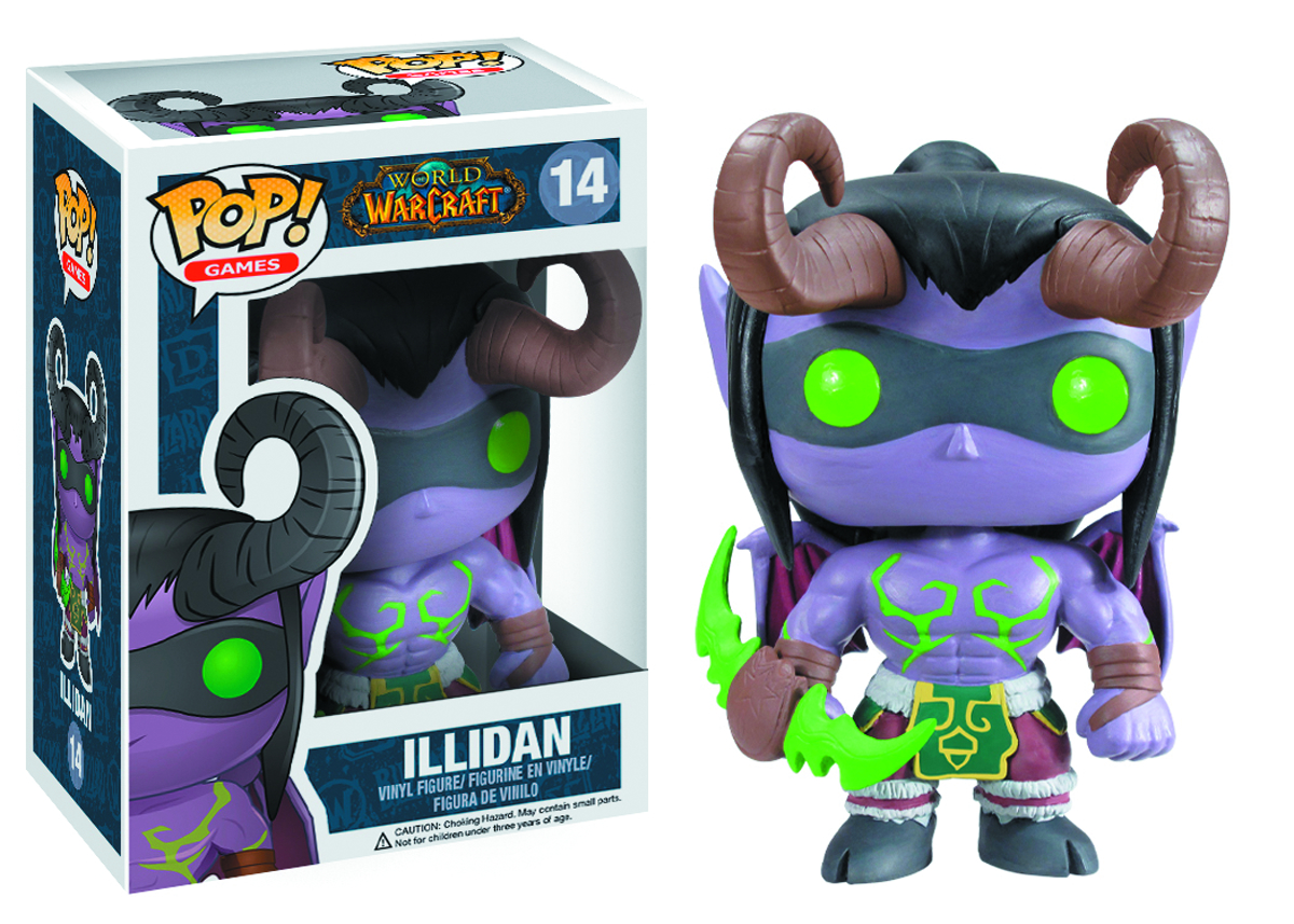POP WARCRAFT ILLIDAN VINYL FIG