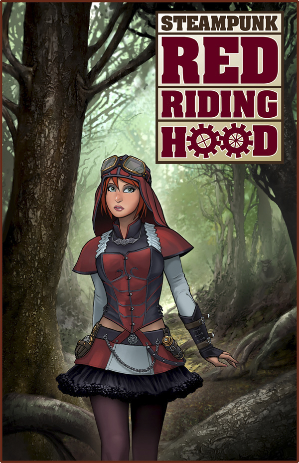 STEAMPUNK RED RIDING HOOD ONE SHOT