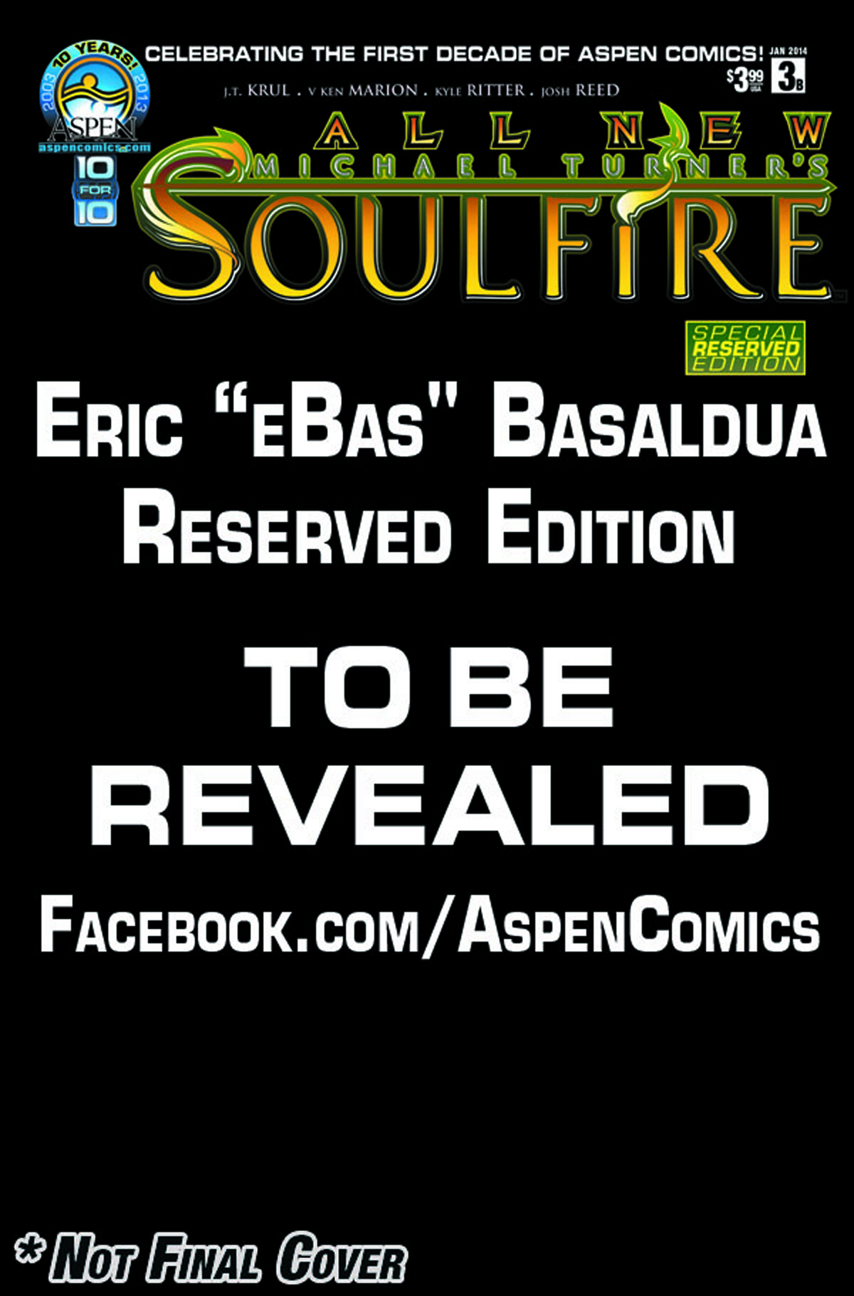 ALL NEW SOULFIRE #3 ASPEN RESERVED CVR