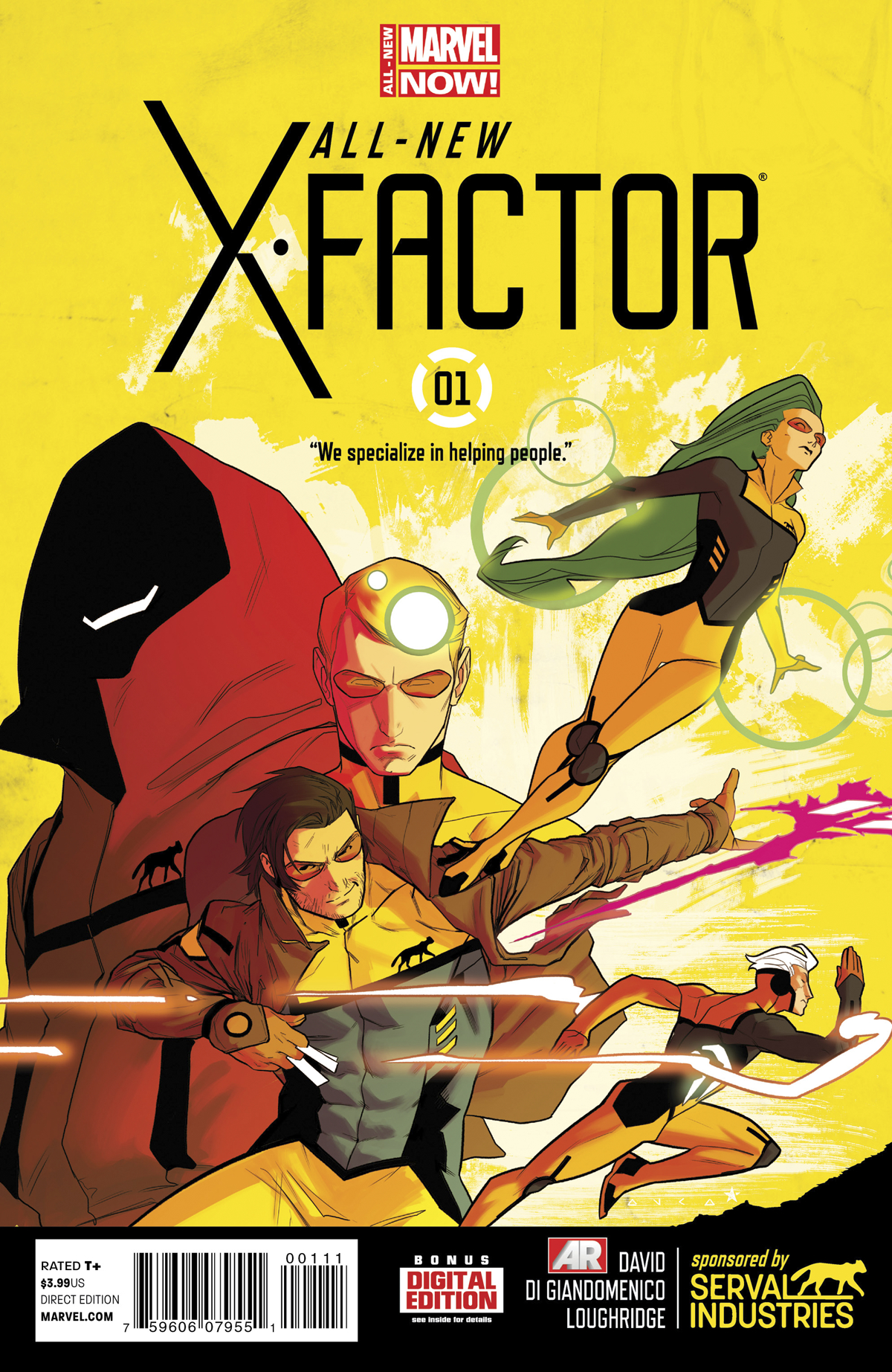 ALL NEW X-FACTOR #1 ANMN
