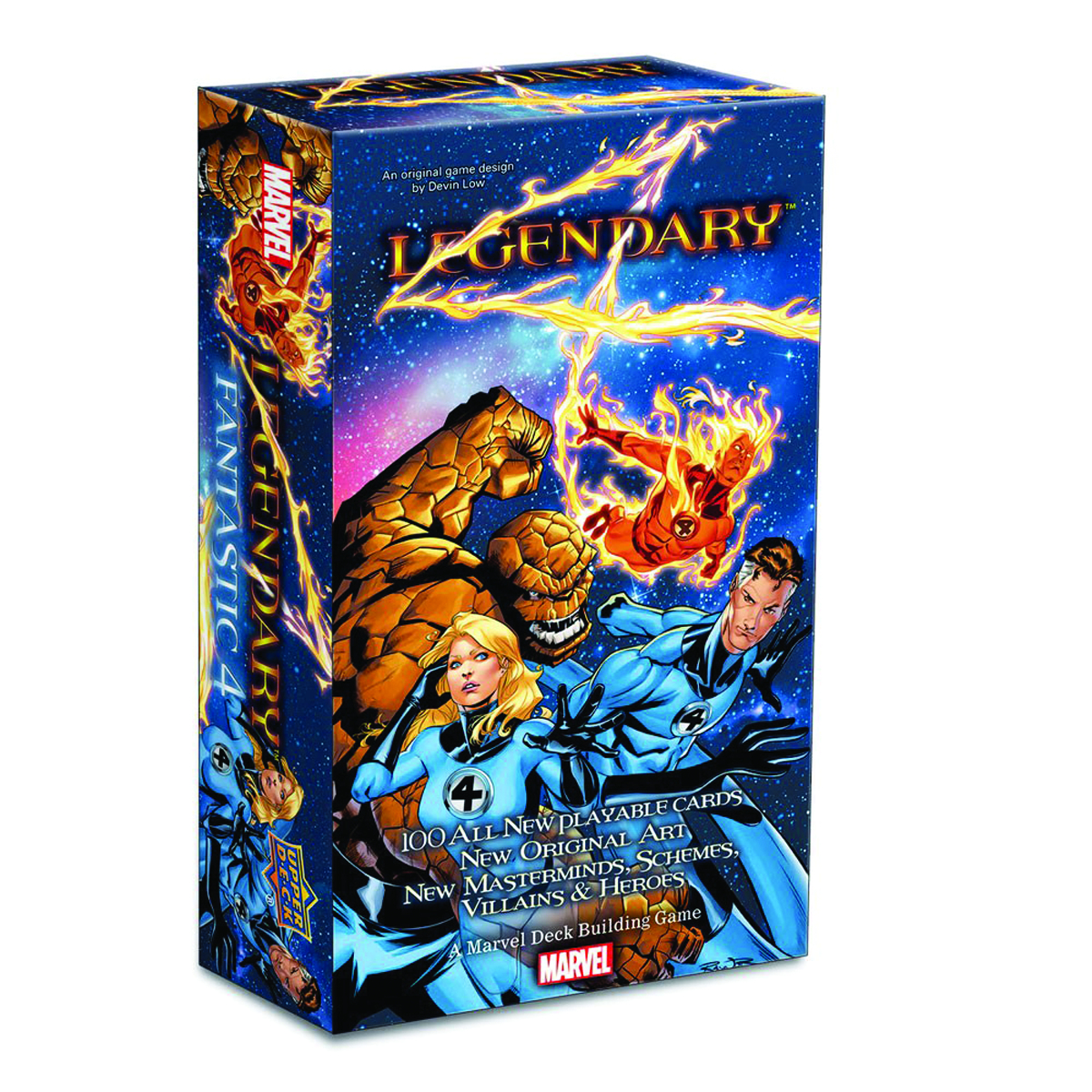 MARVEL LEGENDARY DECK BUILDING GAME FF EXP