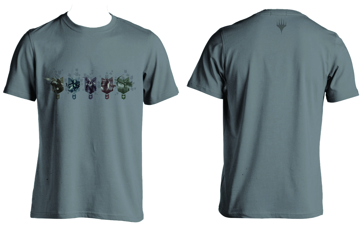 MTG THEROS 5 CHARACTER T/S XXL
