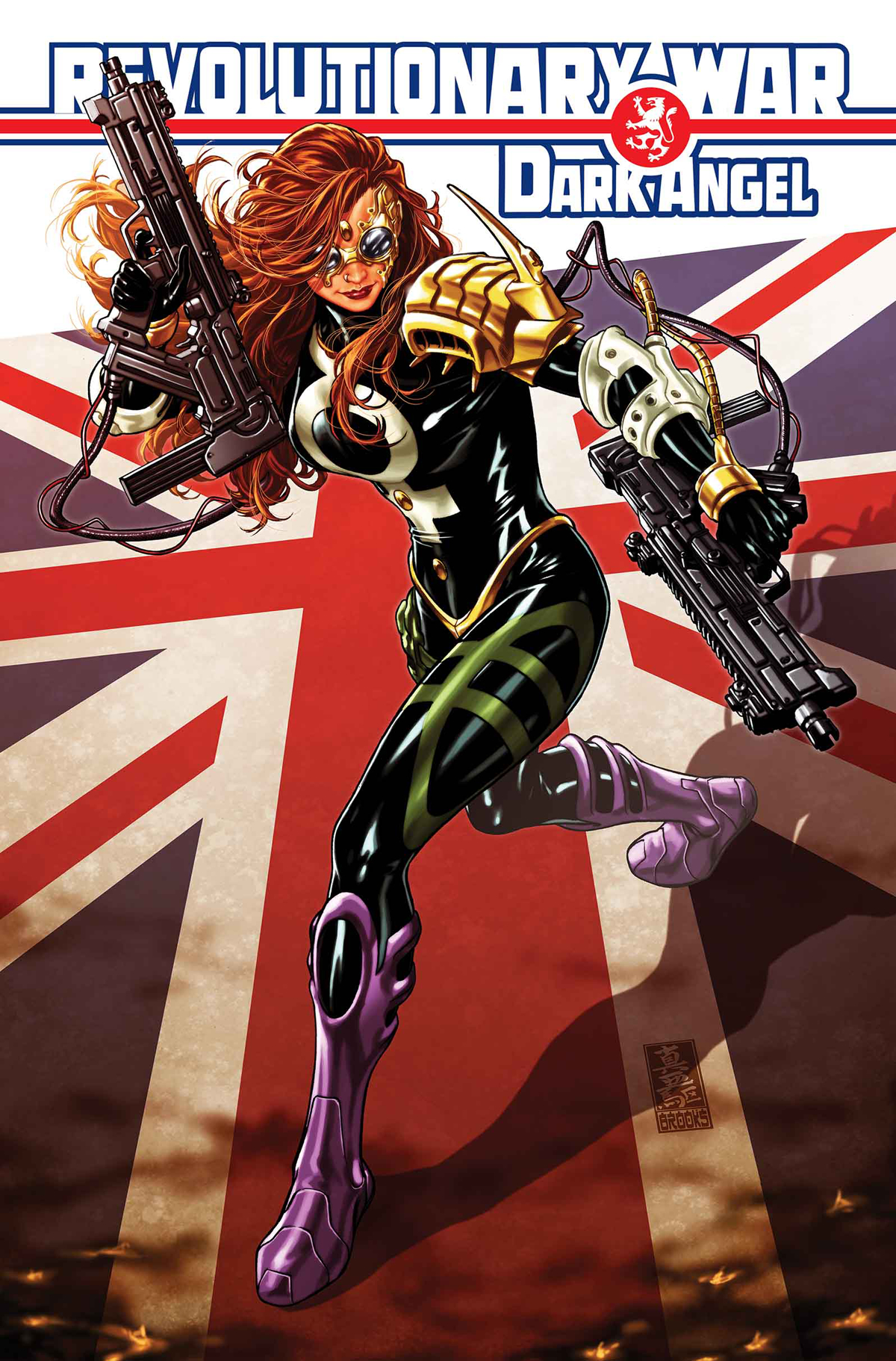 REVOLUTIONARY WAR DARK ANGEL #1