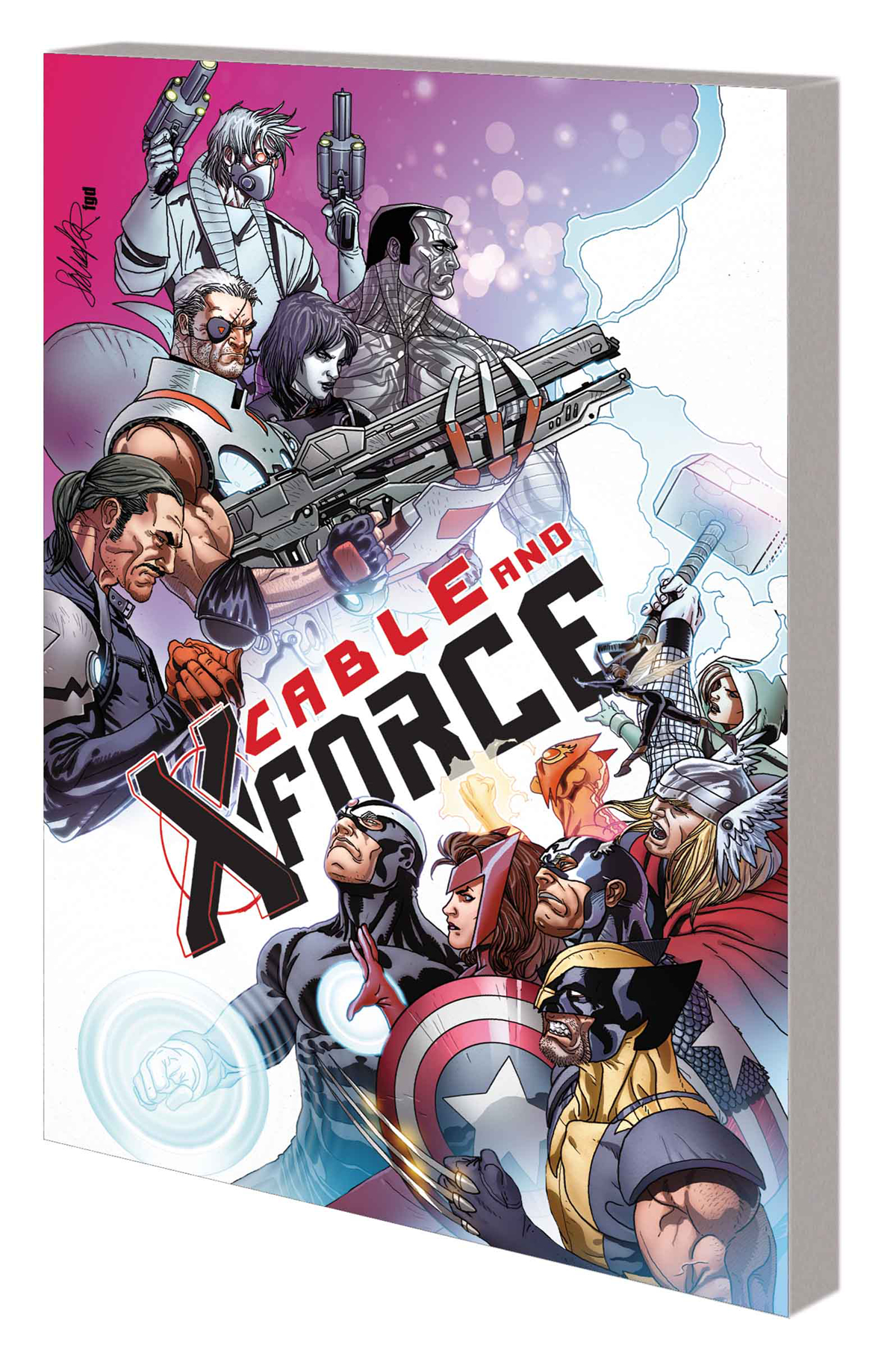 CABLE AND X-FORCE TP VOL 03 THIS WONT END WELL