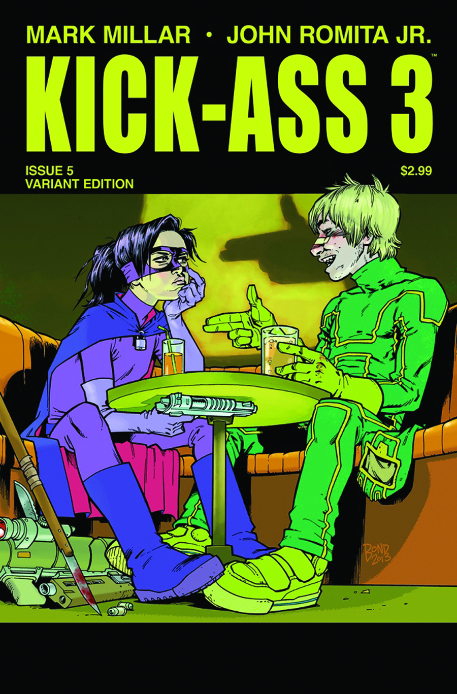 KICK-ASS 3 #5 (OF 8) BOND VAR (MR)