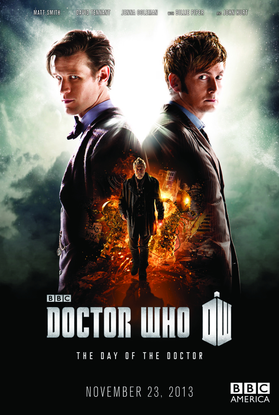 DOCTOR WHO THE DAY OF THE DOCTOR BD + DVD