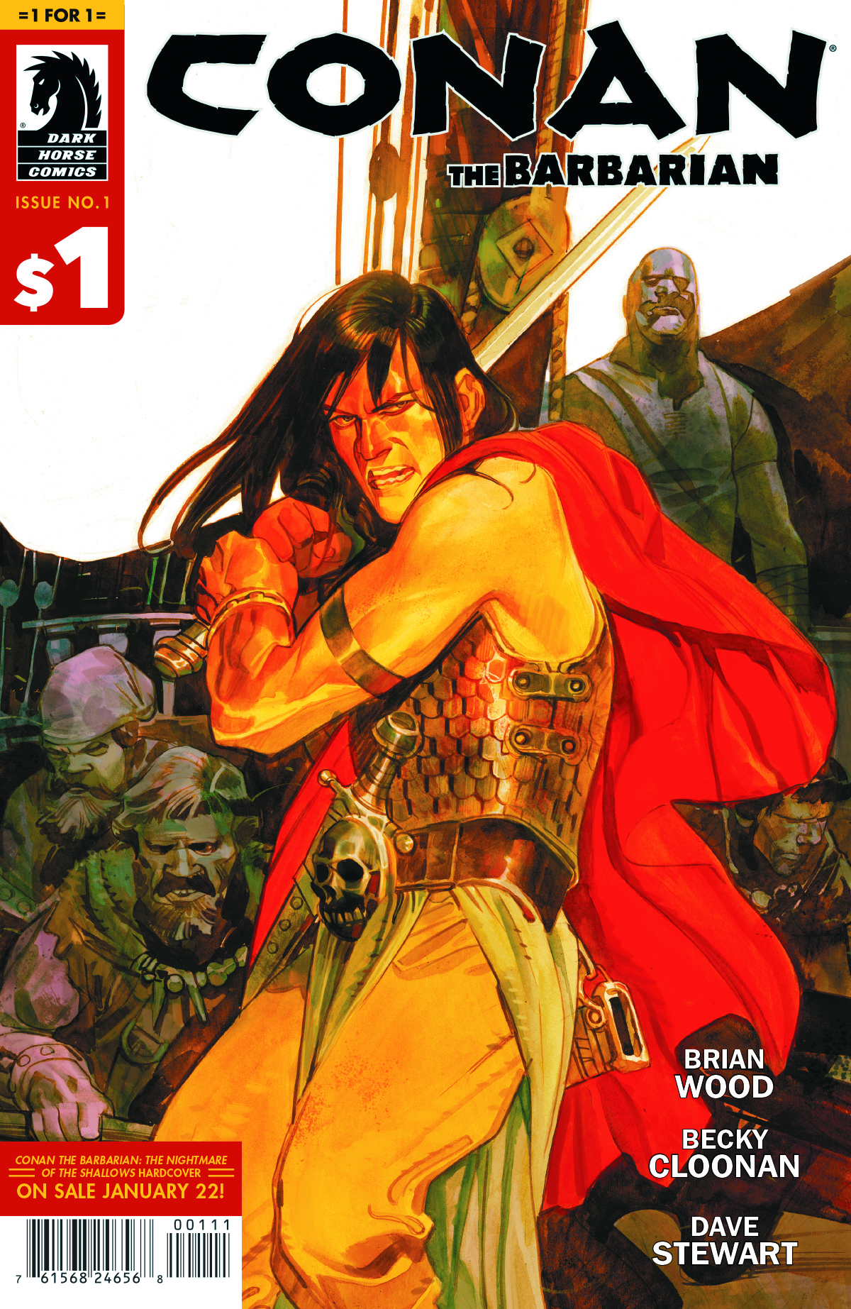 1 FOR $1 CONAN THE BARBARIAN #1