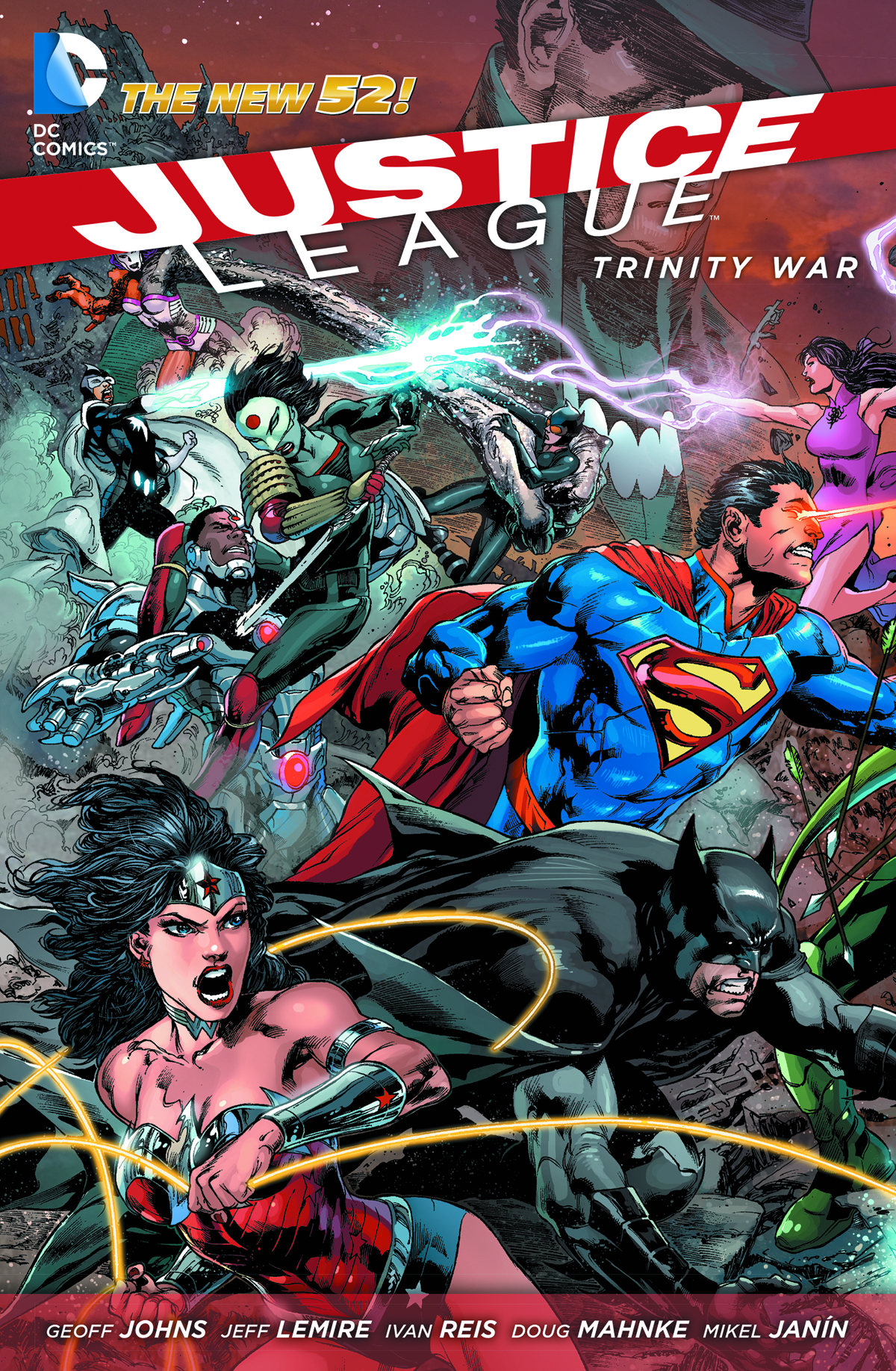JUSTICE LEAGUE TRINITY WAR HC (N52)