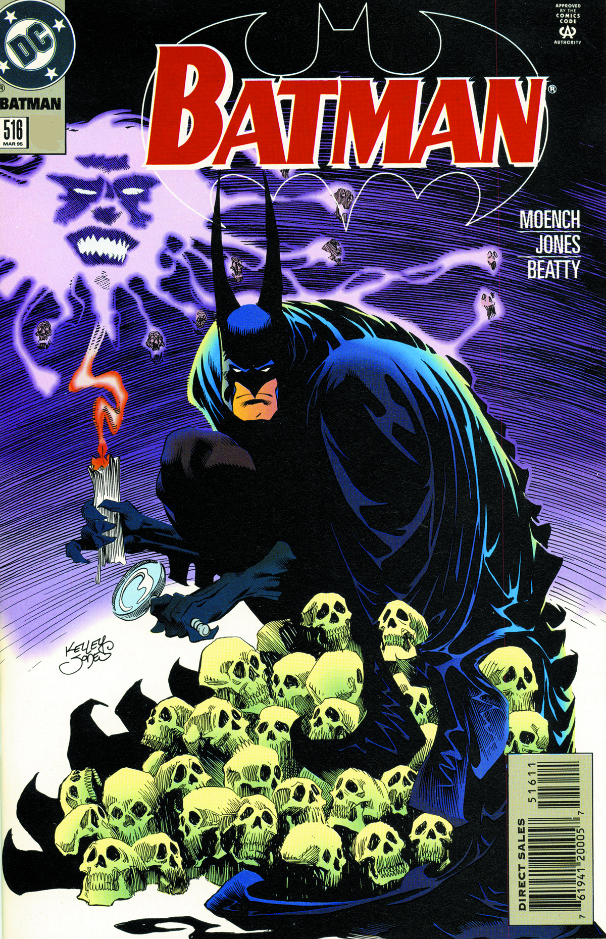 BATMAN BY DOUG MOENCH AND KELLEY JONES HC VOL 01