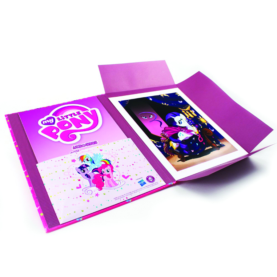 MY LITTLE PONY RARITY LIMITED ED COMICFOLIO