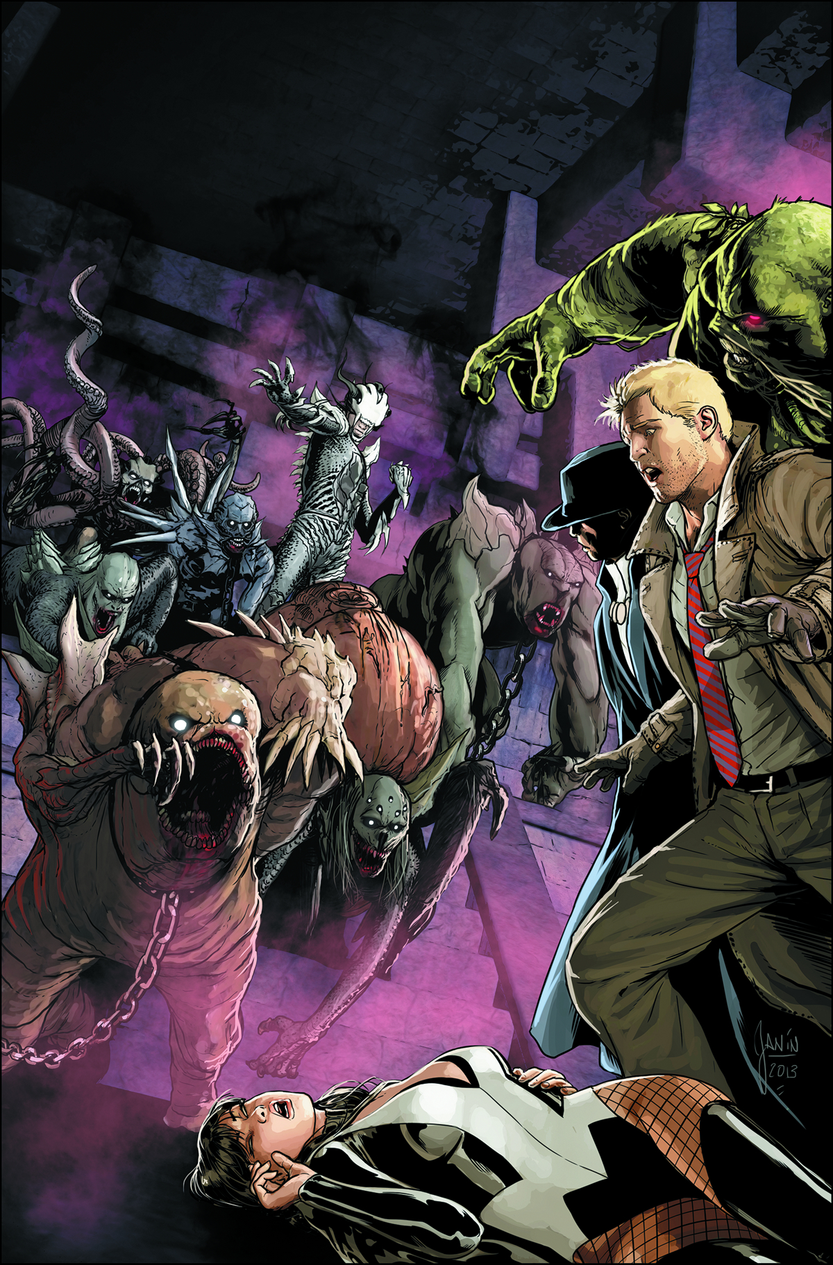 JUSTICE LEAGUE DARK #27 VAR ED