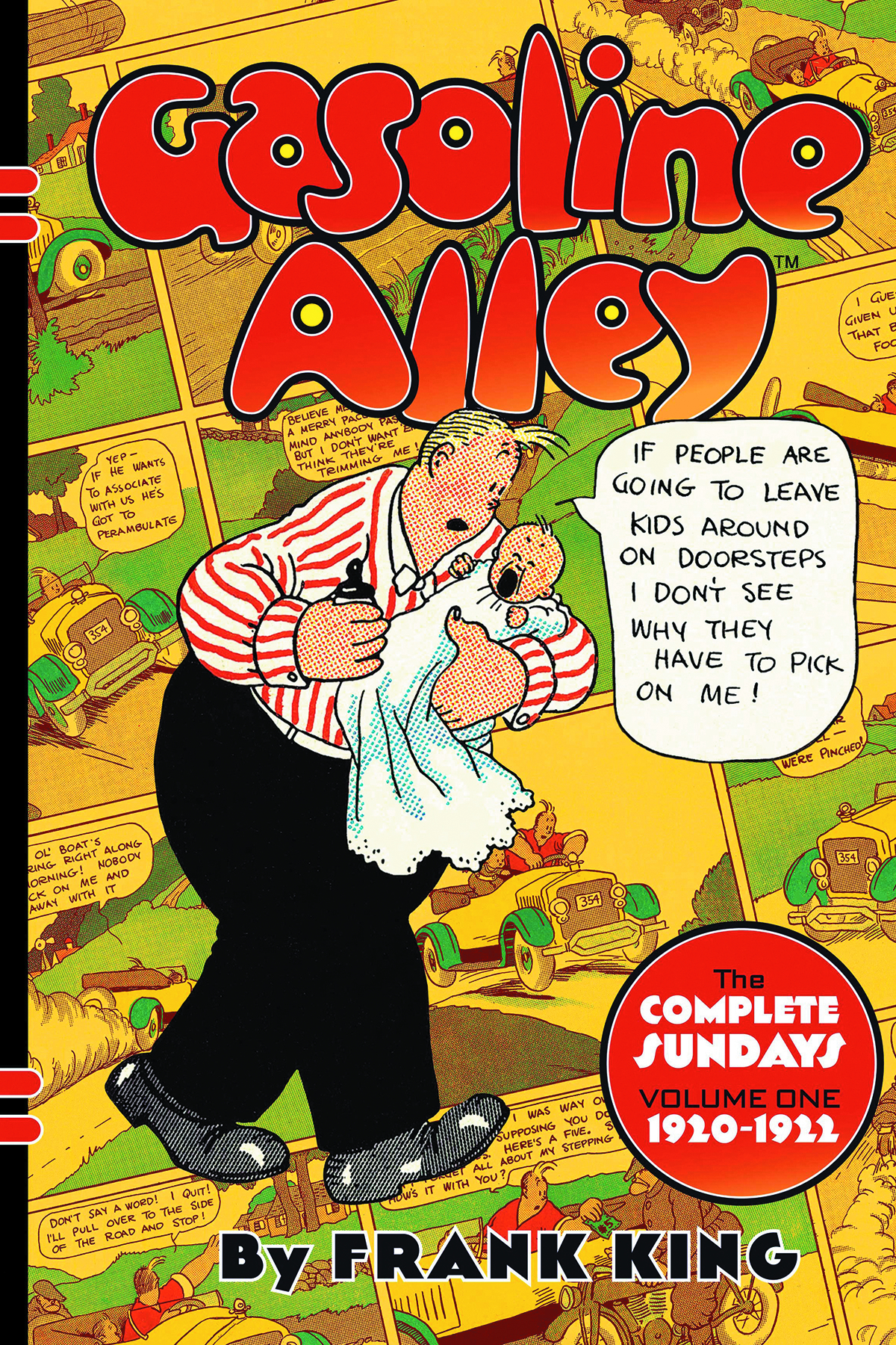 GASOLINE ALLEY HC VOL 01 COMPLETE SUNDAYS 1920-1922