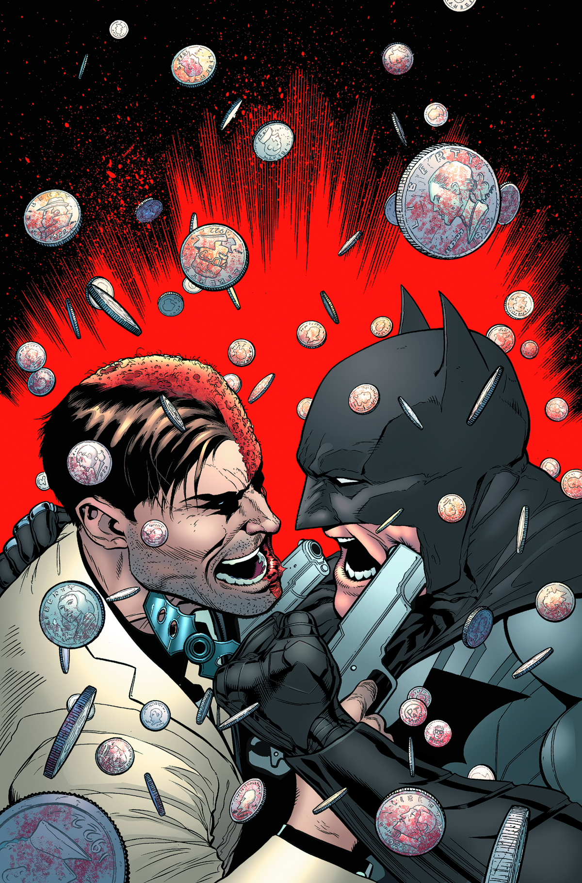 BATMAN AND TWO FACE #27 VAR ED