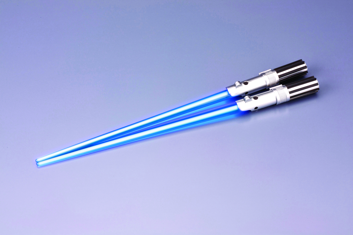 SW LUKE SKYWALKER LIGHT UP CHOPSTICKS