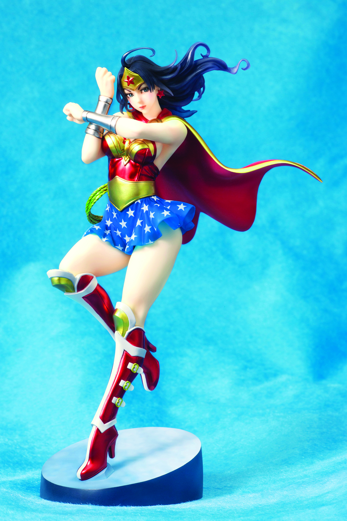 DC COMICS ARMORED WONDER WOMAN BISHOUJO STATUE