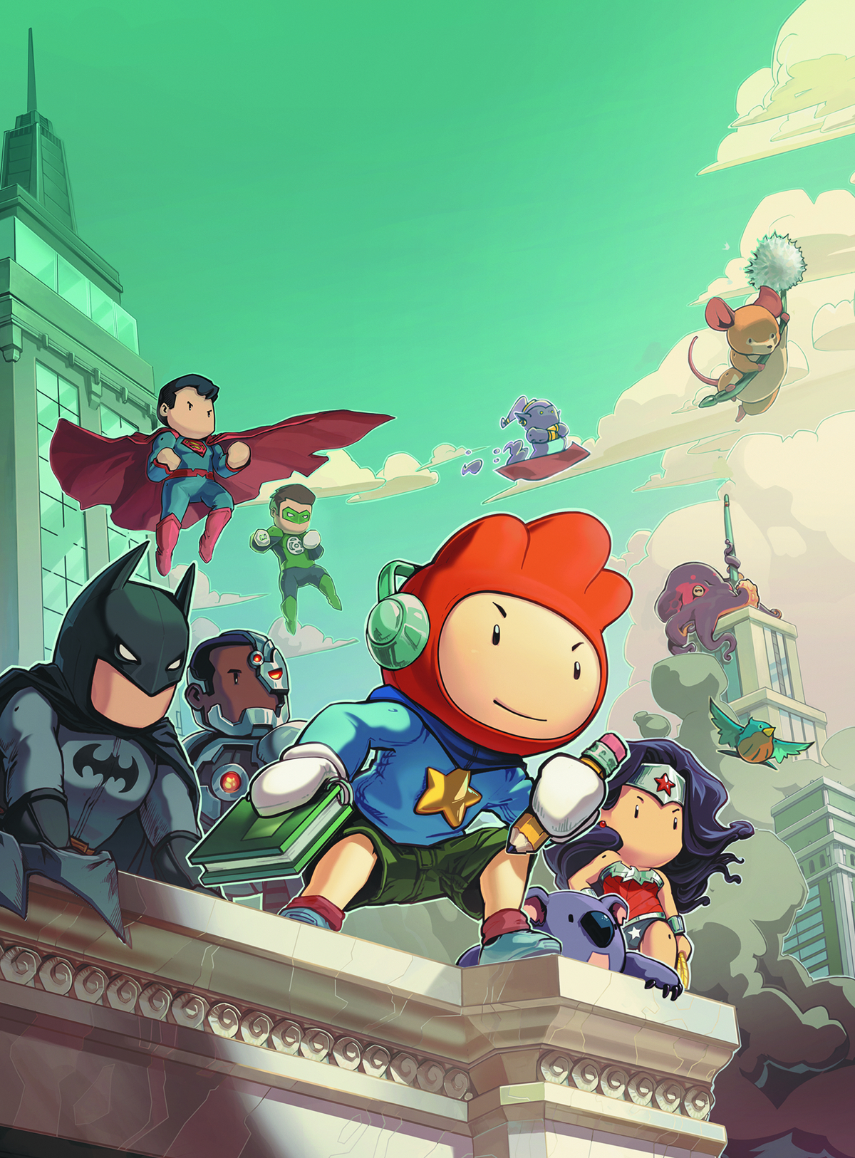 SCRIBBLENAUTS UNMASKED CRISIS OF IMAGINATION #1 VAR ED