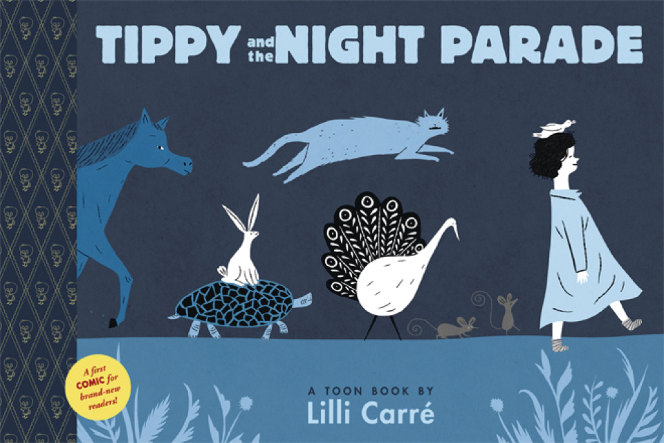 TIPPY & NIGHT PARADE TOON BOOKS YR HC GN