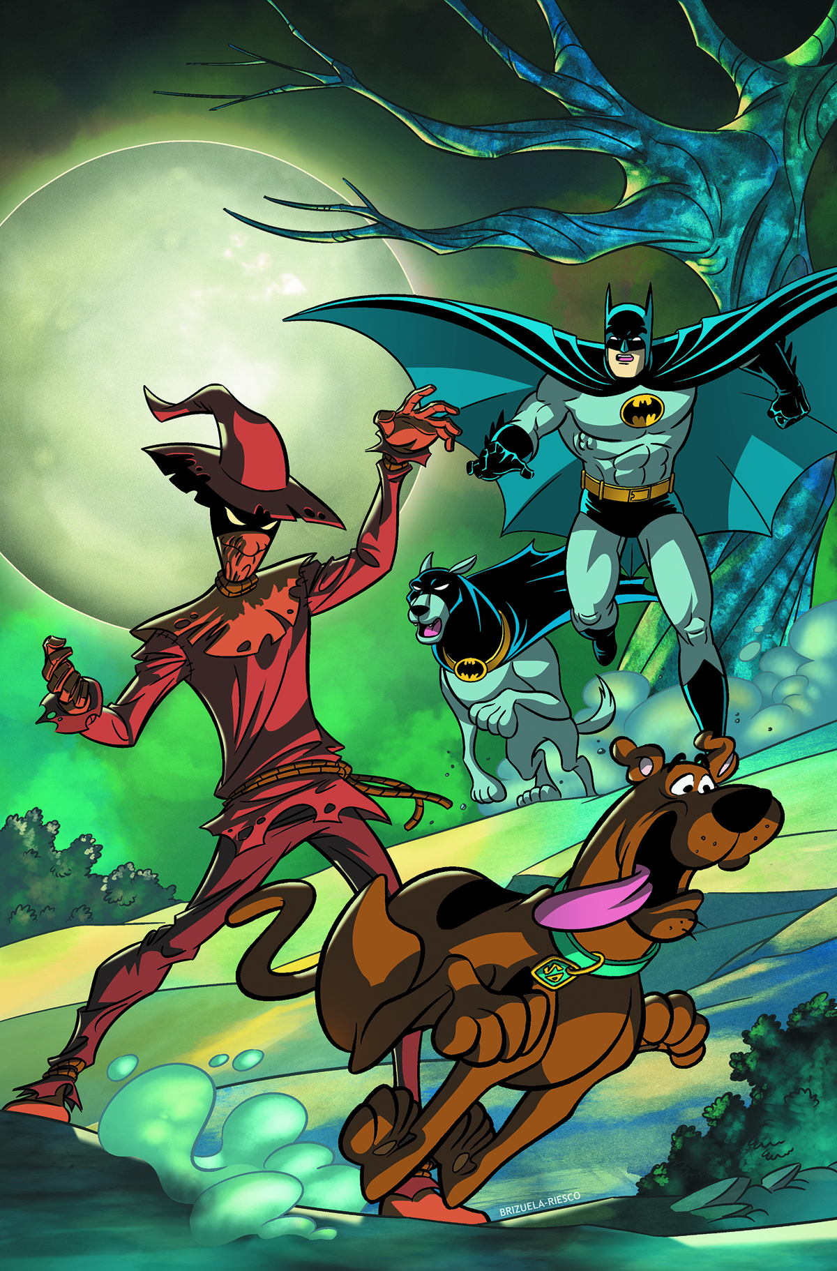 SCOOBY DOO TEAM UP #2