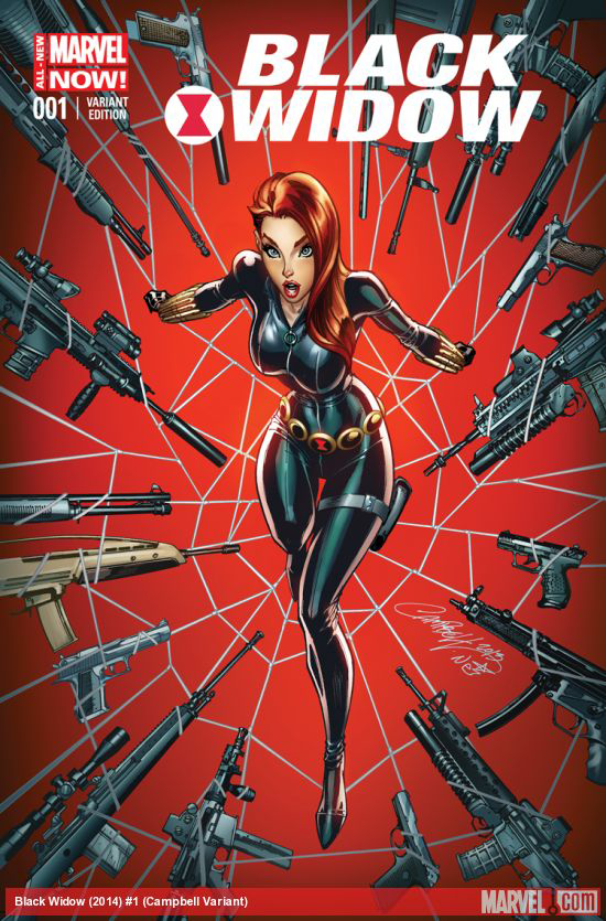 BLACK WIDOW #1 CAMPBELL VAR ANMN