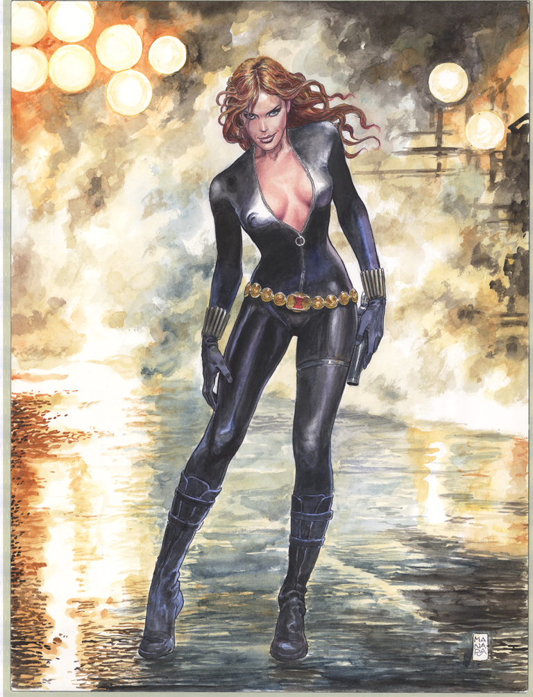 BLACK WIDOW #1 MANARA VAR ANMN