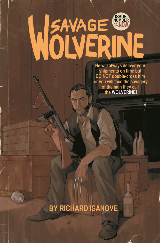 SAVAGE WOLVERINE #14.NOW NOTO VAR ANMN