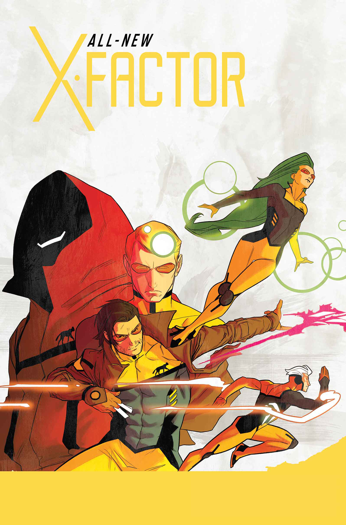 ALL NEW X-FACTOR #1 LARROCA SKETCH VAR ANMN