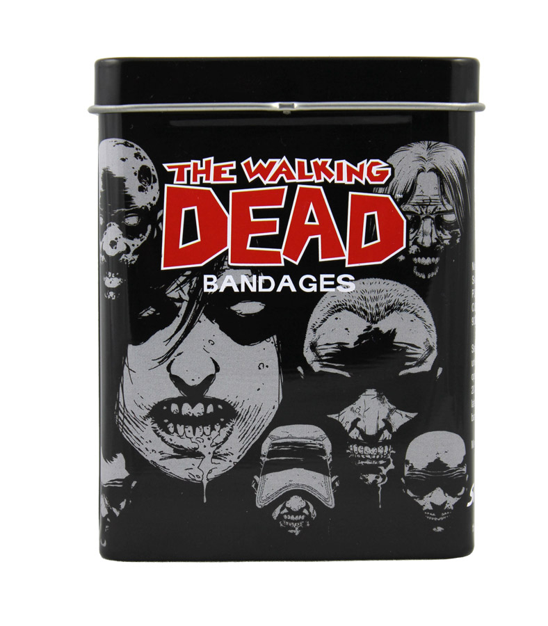 WALKING DEAD ADHESIVE BANDAGE TIN