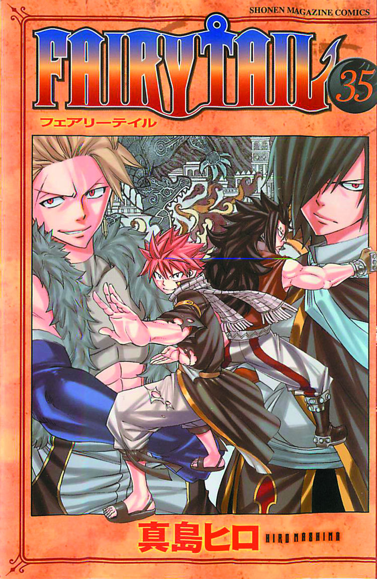 FAIRY TAIL GN VOL 35
