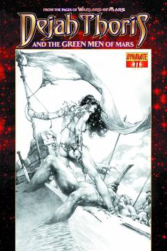 DEJAH THORIS & GREEN MEN OF MARS #11