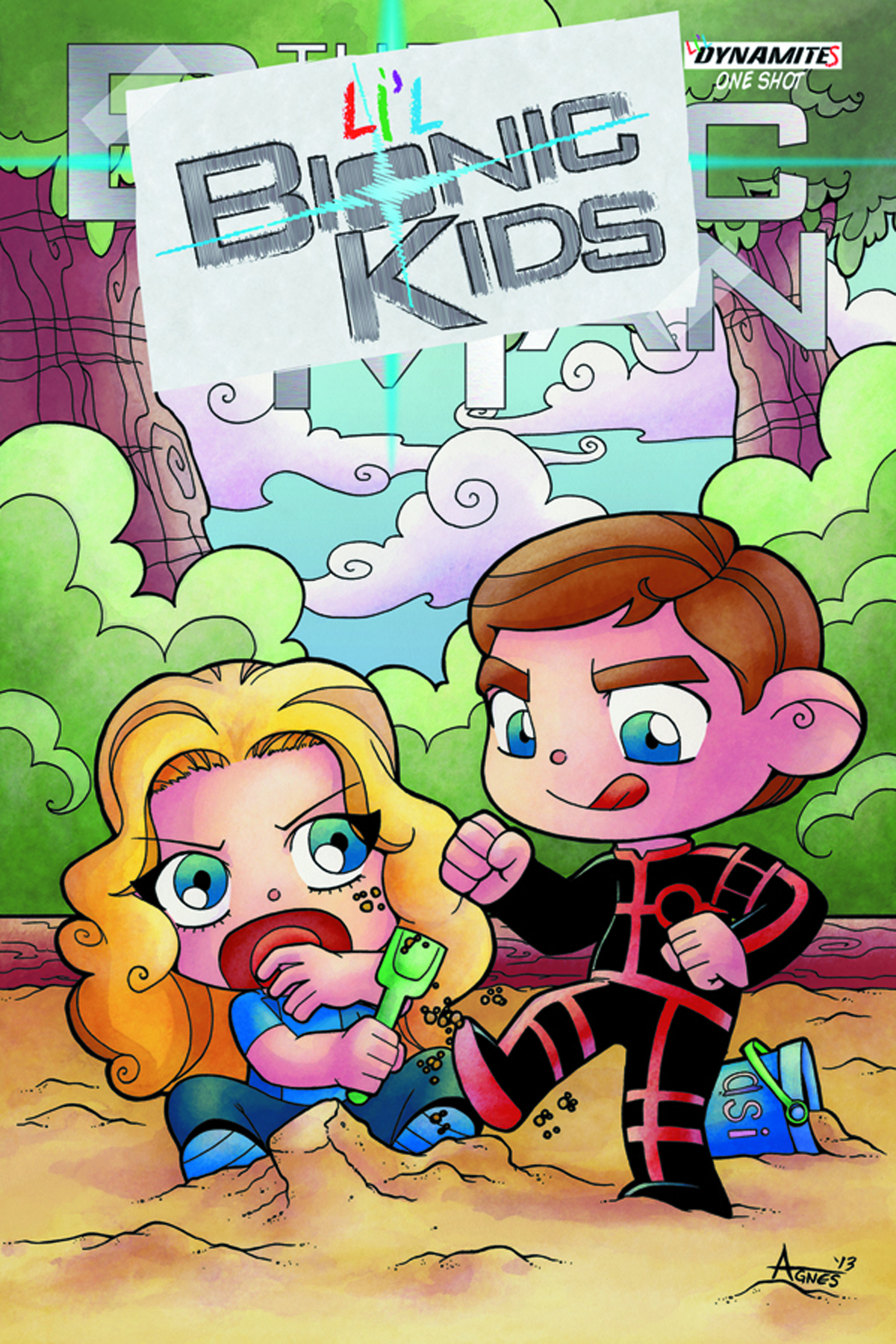 LIL BIONIC KIDS #1 EXC SUBSCRIPTION CVR