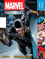 MARVEL FACT FILES #13 CYCLOPS COVER
