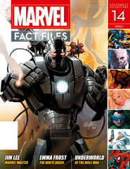 MARVEL FACT FILES #14 WAR MACHINE COVER