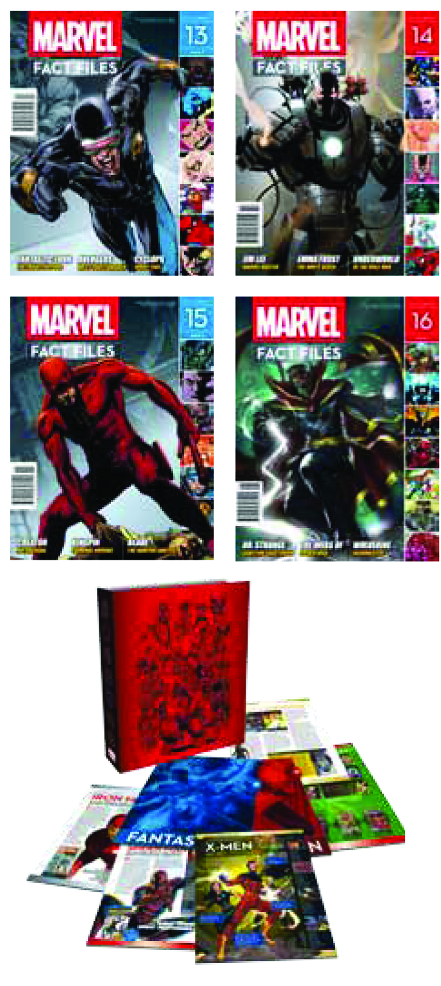 MARVEL FACT FILES #15 DAREDEVIL COVER