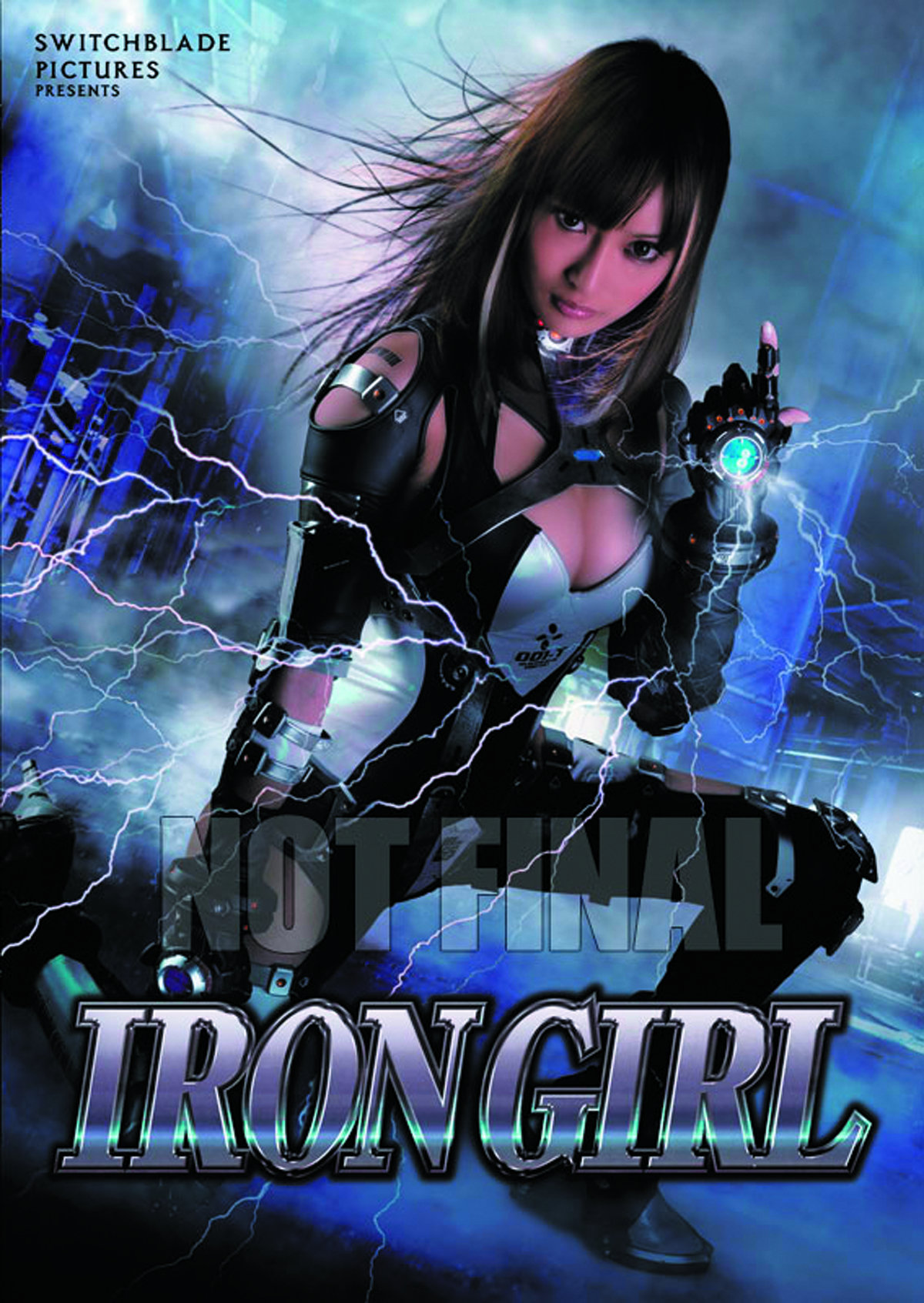 IRON GIRL DVD