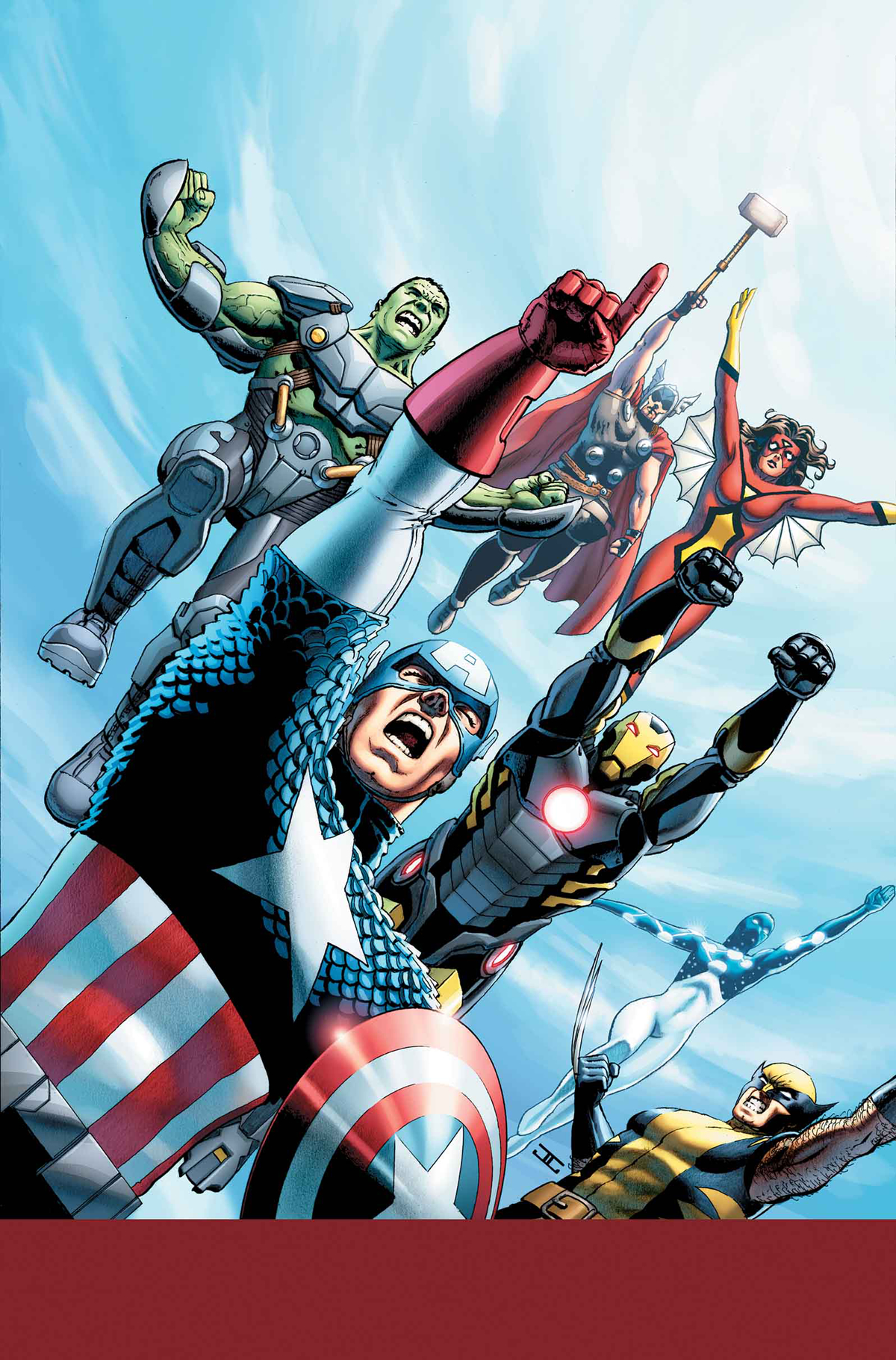 AVENGERS WORLD #1 YOUNG VAR ANMN