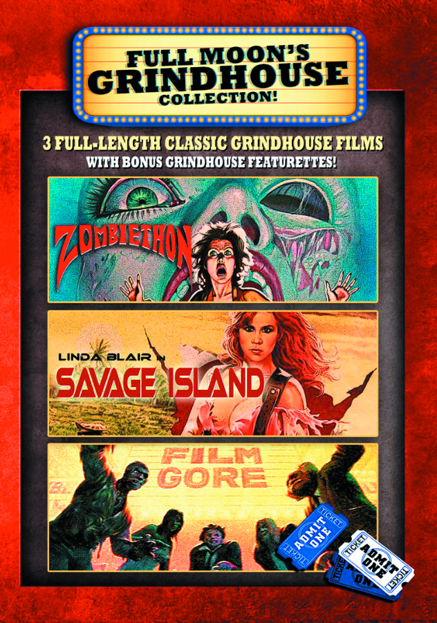 GRINDHOUSE 3 PACK SET DVD