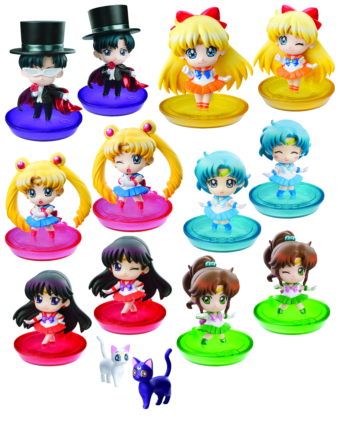 SAILOR MOON PS PETIT CHARA LAND 6PC BMB DS
