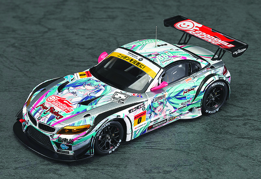 GSR HATSUNE MIKU BMW 2012 1/43 SCL CAR SO VER